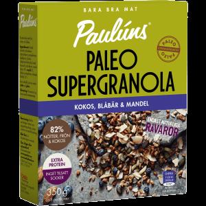 Paleo supergranola blåbär och mandel 350g