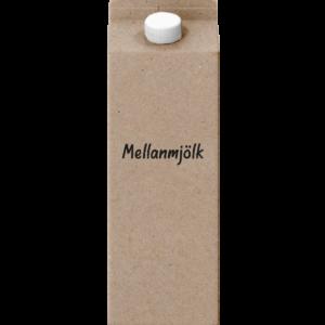 Mellanmjölk 1L